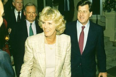 Camilla Parker Bowles and Simon Elliot
