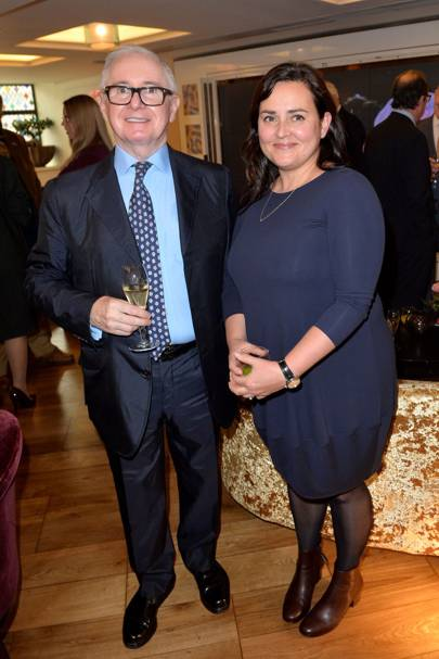John Reid and Lindsay Branagh