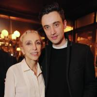 Franca Sozzani and Guillaume Henry
