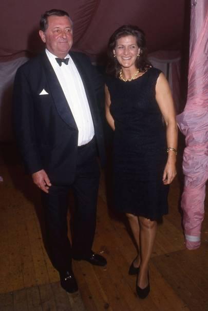 Chris Cole and Mrs Anthony Osborne