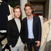 Luke Treadaway and Robert Konjic