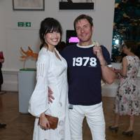 Daisy Lowe and Simon Le Bon