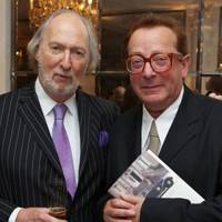 Ed Victor and Lord Saatchi