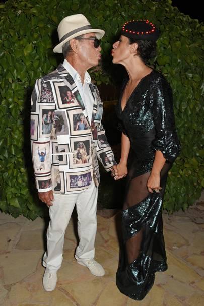 Tony Pike and Diana Gomez