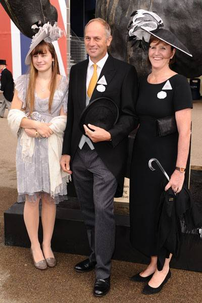 Sophie Redgrave, Sir Steve Redgrave and Anne Redgrave