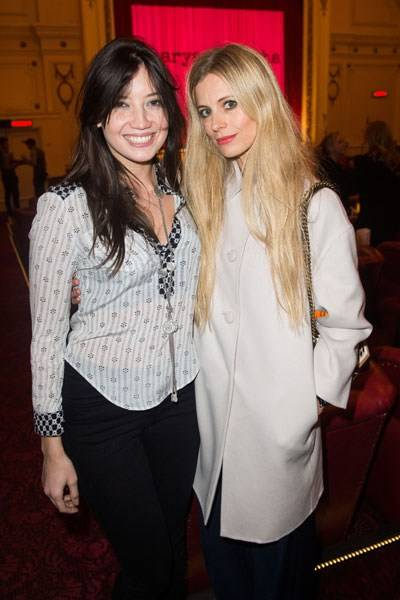 Daisy Lowe and Laura Bailey