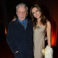 David Bailey and Elizabeth Hurley