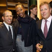Jonathan Newhouse, Vanessa Kingori and Jamie Bill