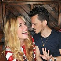 Matthew Williamson and Cat Deeley