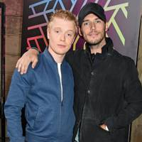 Freddie Fox and Sam Clafin