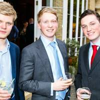 Lord Porchester, Ben Alun-Jones and Tom Alun-Jones