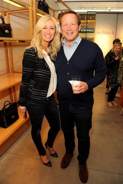 Jenny Halpern Prince and Ed Vaizey