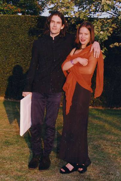 Piers Jackson and Jade Jagger