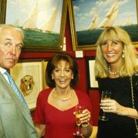Lord Patrick Beresford, Clare Holland and Mrs Donald Marr