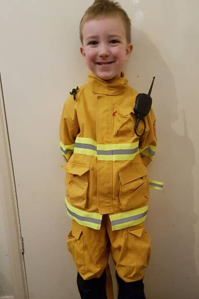 Ewan Devenish as Fireman Sam
