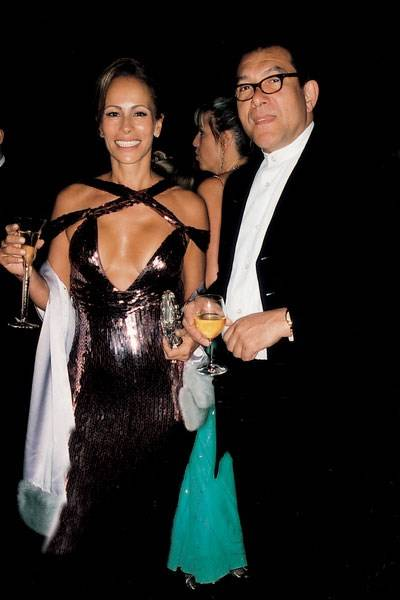 Mrs Guy Dellal and Bruce Oldfield