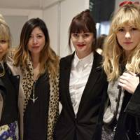 Samantha Penman, Emily Yeoh, Teresa Tarmey and Suki Waterhouse