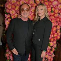 Michael Kors and Kate Moss