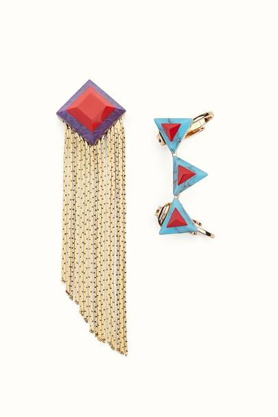 Fendi earring and cuff