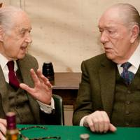Sir John Standing and Sir Michael Gambon