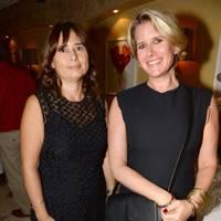 Alexandra Shulman and Fiona Golfar