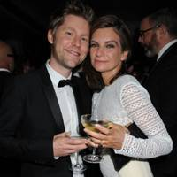 Christopher Bailey and Natalie Massenet