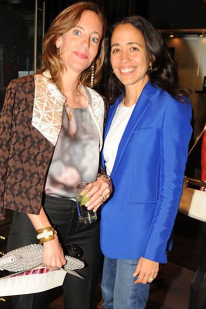 Stephanie Ferrario and Carmen Borgonovo