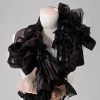 Black Blossom Collar by RedShift