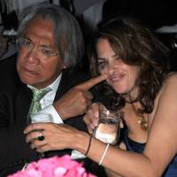 Sir David Tang and Tracey Emin, 2012