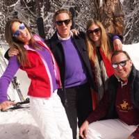 Harry Becher, Amanda Sheppard, Annabel Seel and Count Filippo Guerrini Maraldi