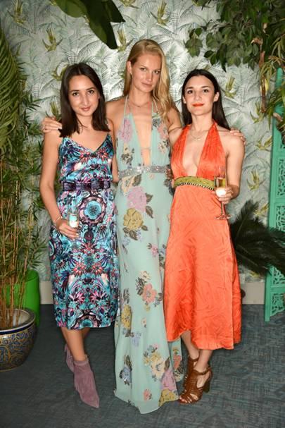 Gabriela Fones, Anisa Sojka and Sabina Berner