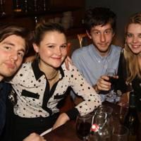 Kitt Proudfoot, Amber Atherton and Greta Bellamacina