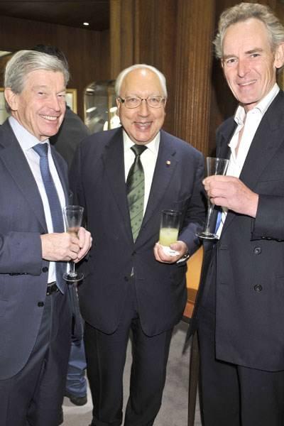 Joachim Gottschalk, Urs Schwarzenbach and Nick Evans