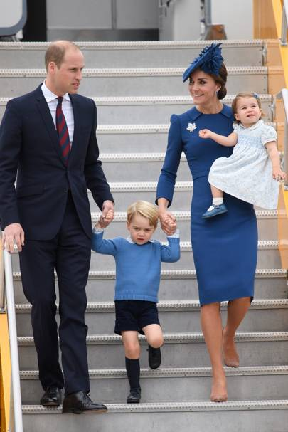 Duchess of Cambridge, Duke of Cambridge, Prince George and Princess Charlotte
