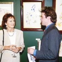 Lady Rachel Billington and Eddie Tennant