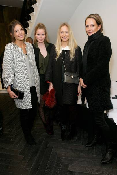 Amanda Sheppard, Katie Readman, Martha Ward and Saffron Aldridge