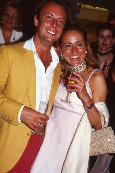 Nicolo Castellini and Alessandra Montesi
