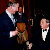 The Prince of Wales and Mark Vestey