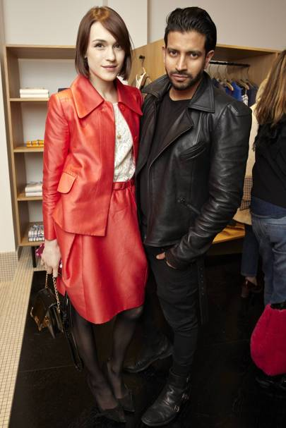 Ella Catliff and Nik Thakkar