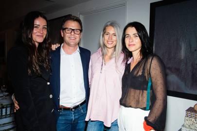 Alex Eagle, Adam Lippes, Sarah Harris and Emily Sheffield