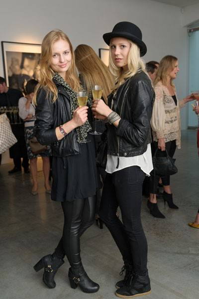 Monica Maron and Hanna Hultberg