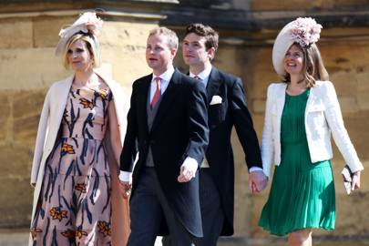 Lizzy Pelly, Guy Pelly, James Meade and Lady Laura Marsham