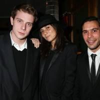 Jonathan Anderson, Emmanuelle Alt and Benjamin Bruno
