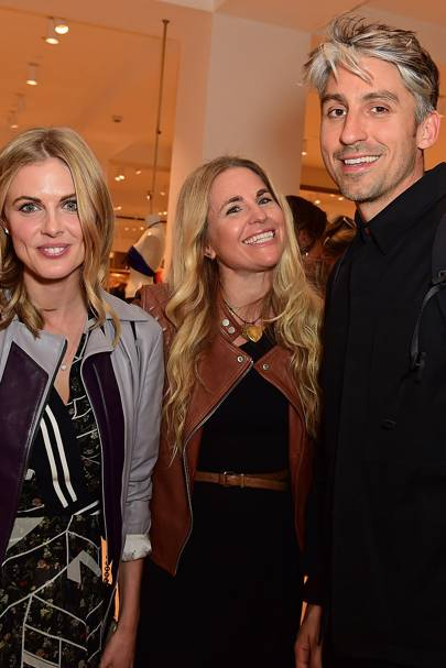 Donna Air, Elizabeth Hoffman and George Lamb