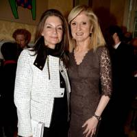 Natalie Massenet and Arianna Huffington