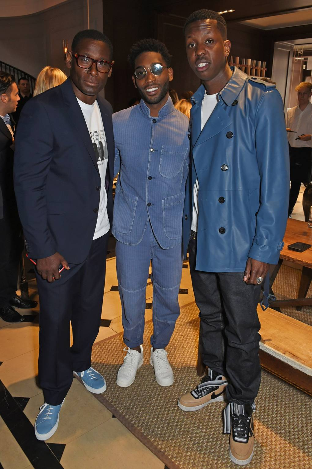 Burberry party for London Fashion Week Men\'s with Tinie Tempah & Tom ...