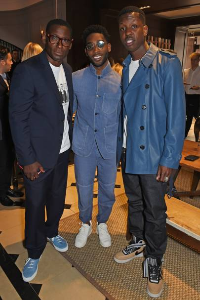 David Harewood, Tinie Tempah and Jamal Edwards