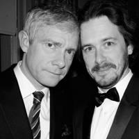 Martin Freeman and Edgar Wright