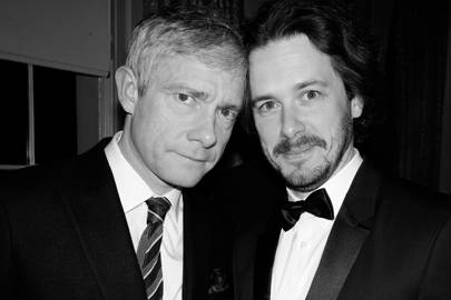 Martin Freeman and Edgar Wright