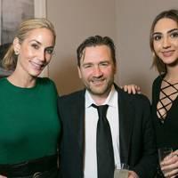 Lisa Butcher, Julian Marshall and Amber Donoso